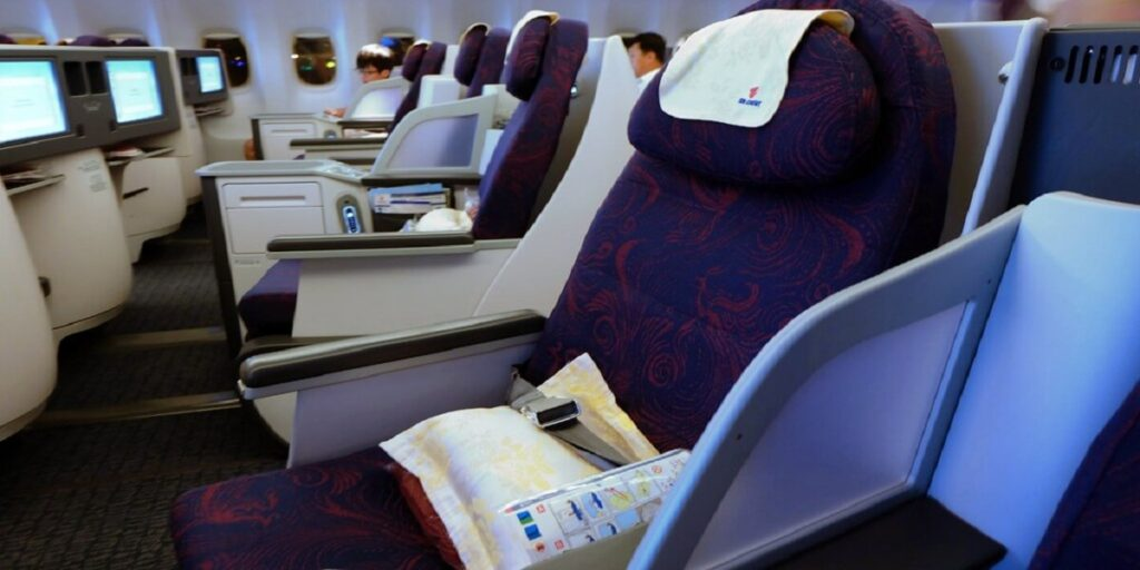 Air China Airline Business Class Seat