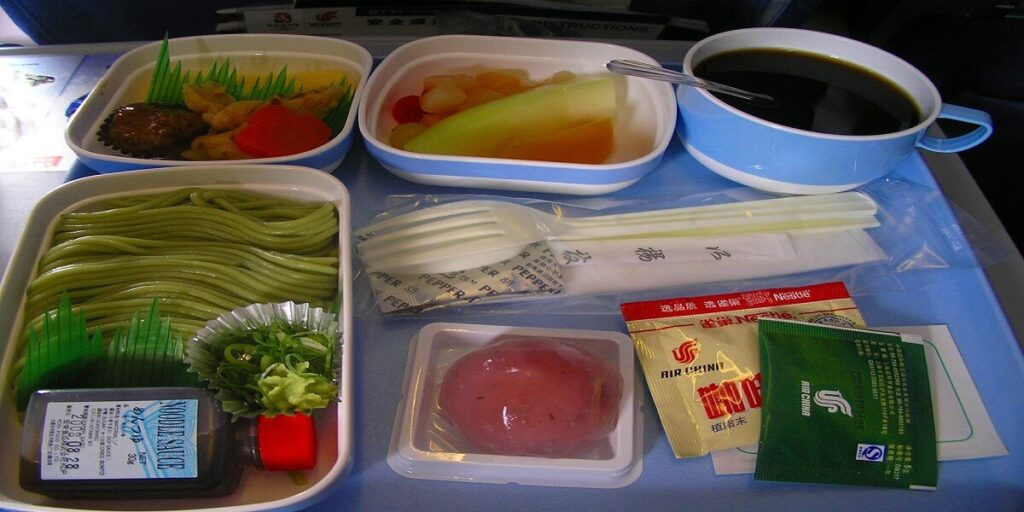 Air China Airline Food and Beverage Facilities