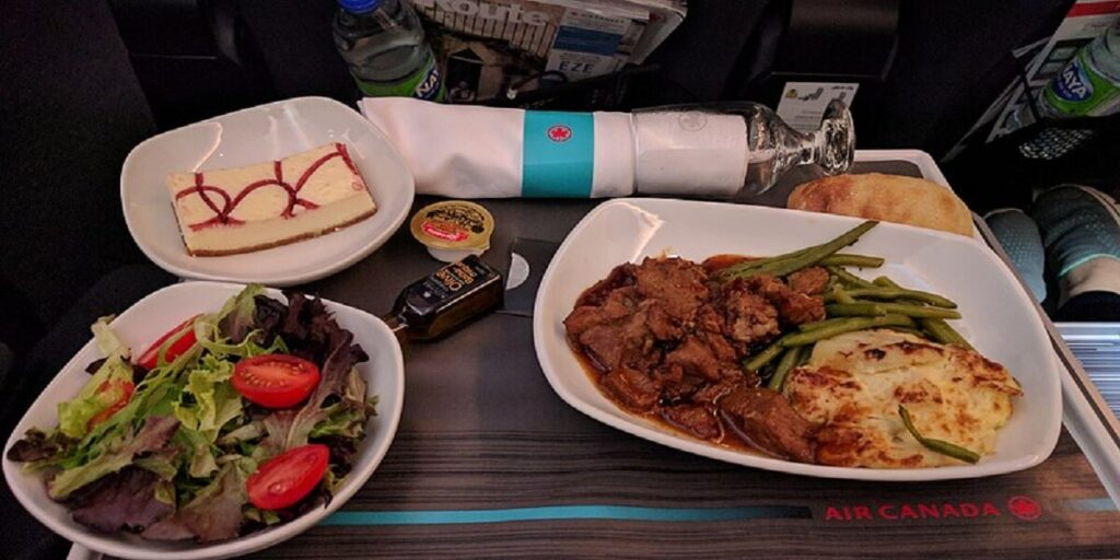 Air_Canada_Premium_Economy_Meal_Lunch