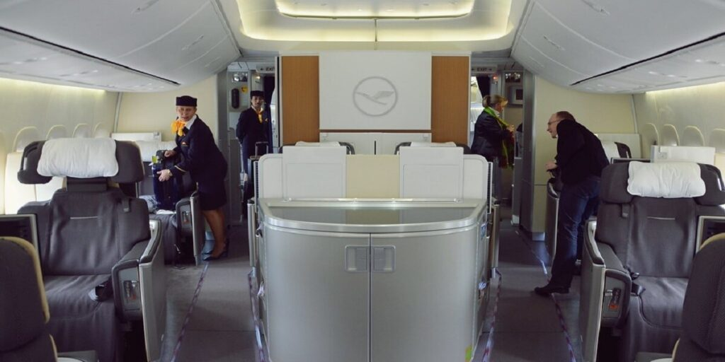 Lufthansa Airlines Cleanliness and Hygiene