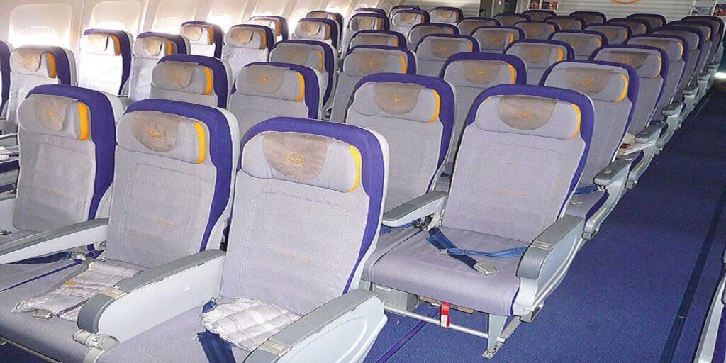 Lufthansa Economy Class Seat