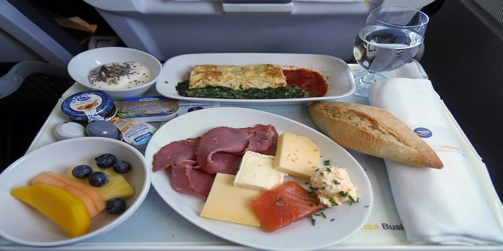 Lufthansa Airlines Meal