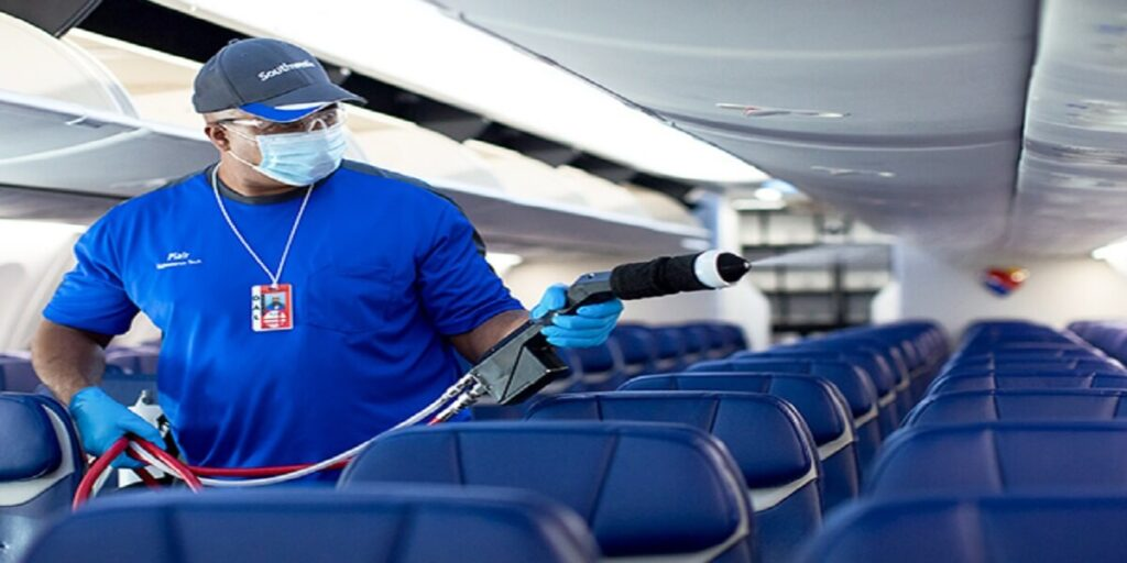 Southwest Airline Cleanliness and Hygiene