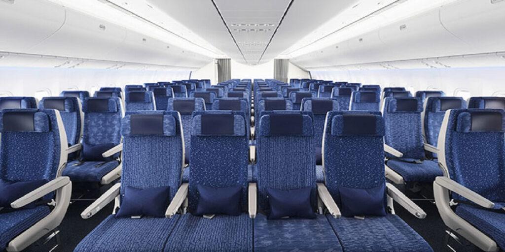 ana economy class seat