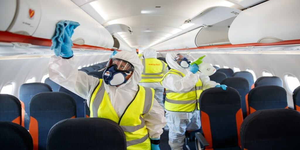 EasyJet Airlines Cleanliness and Hygiene