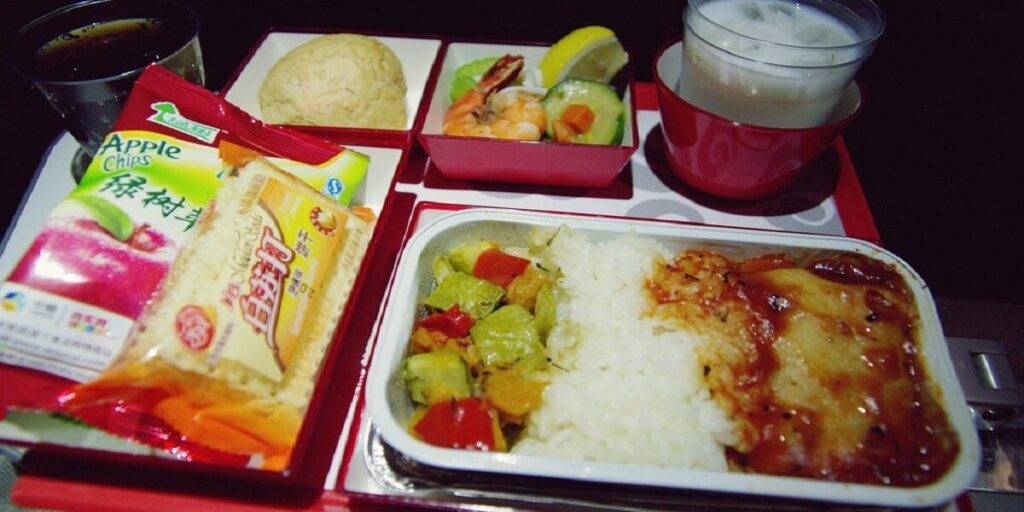 Economy Class Inflight Meal - Hainan Airlines