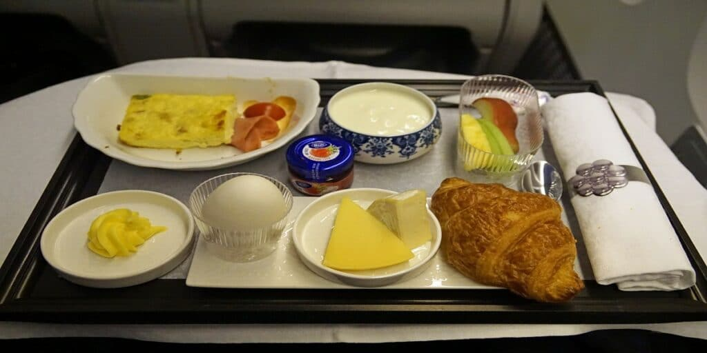 KLM Airlines food | Airlines foodklm airlines food review