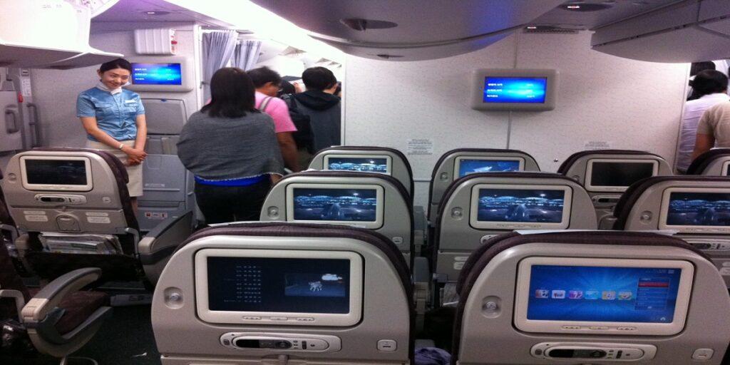 Korea Air Airbus A380 Economy class - Korean Air reviews