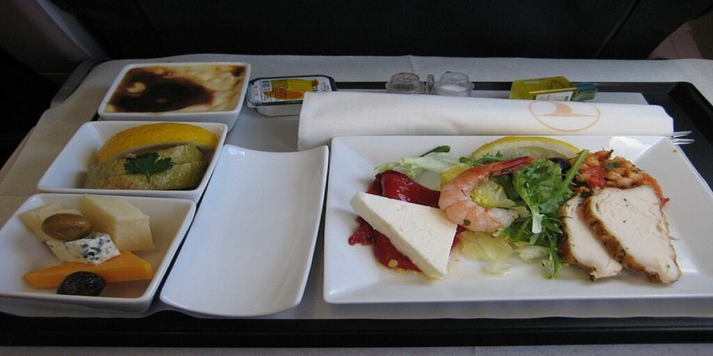 Turkish Airlines Business Class meal reviews