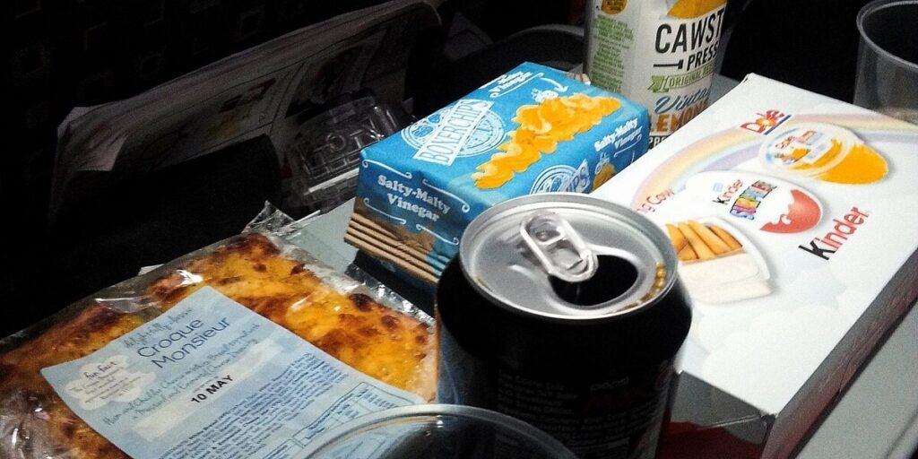 easyjet inflight meals review