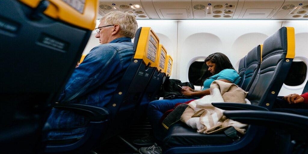ryanair airline seat