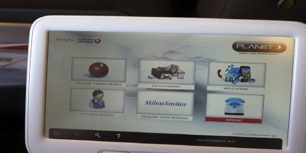 turkish airlines inflight entertainment Reviews